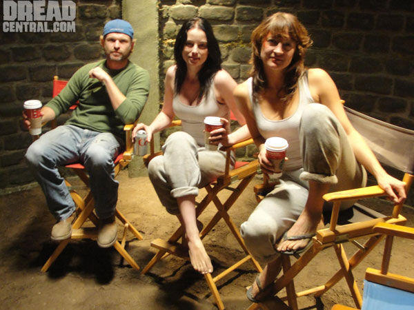 Exclusive Video Interview with Zoe Bell, Rachel Nichols and Josh C. Waller from the Set of Raze and More!