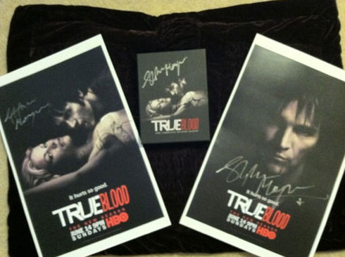 Bid on True Blood Items Signed by Stephen Moyer & Anna Paquin and Help a Worthy Cause