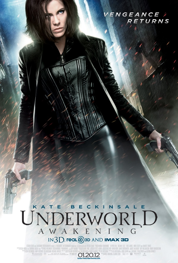 All Five Clips From Underworld: Awakening Ready to Give You the Blues