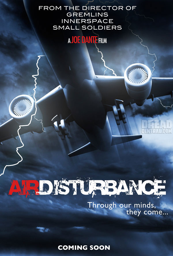 Joe Dante to Direct Air Disturbance; First Look at the Teaser Artwork