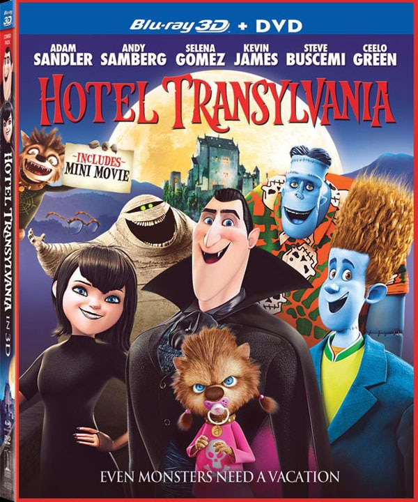 Check-in to Hotel Transylvania at Home