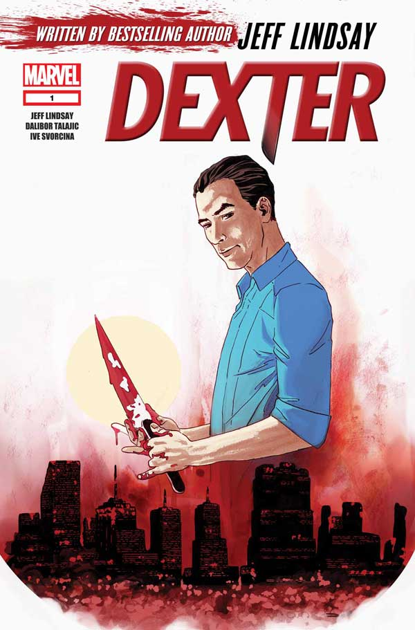 Marvel Announces New Five-Issue Dexter Comic Book Series