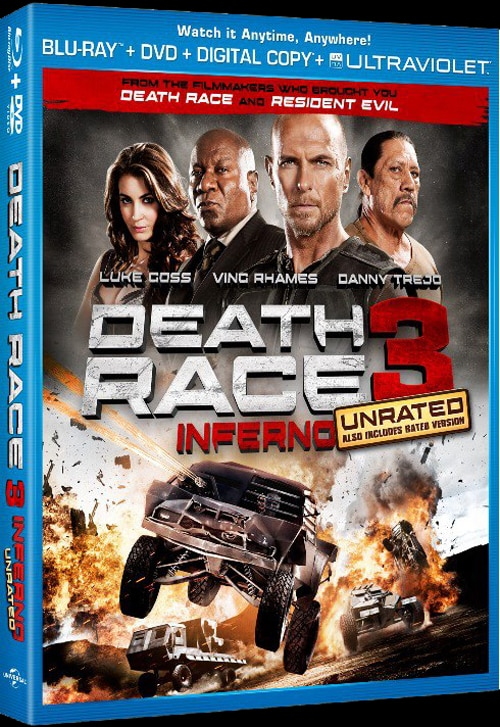 Death Race 3: Inferno Artwork and Specs Screech Online