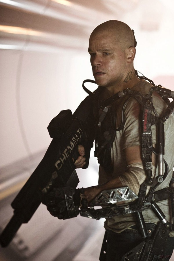Elysium - Another Look at Matt Damon and his BFG