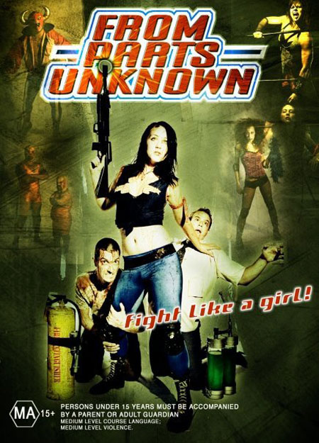 Wrestling Women! Australians! Zombies! Six Years in the Making! From Parts Unknown: Fight Like a Girl Tags in a Trailer