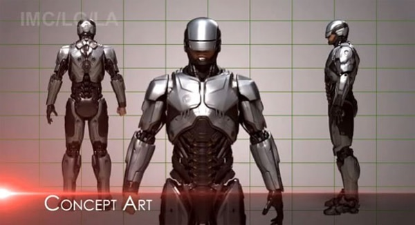 New RoboCop Concept Art Home to Some Wonderful Toys
