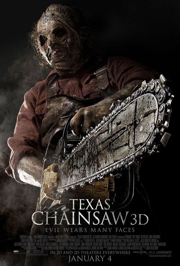 Third Texas Chainsaw 3D TV Spot Arrives Via Bootleg