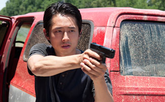 The Walking Dead: Q&A with Steven Yeun (Glenn Rhee)