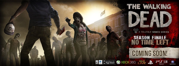 Telltale Games Announces All Platform Release Dates for The Walking Dead: Episode 5 - No Time Left