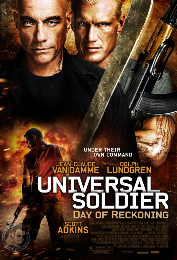 Universal Soldier: Day of Reckoning Press Conference with Dolph Lundgren and director John Hyams