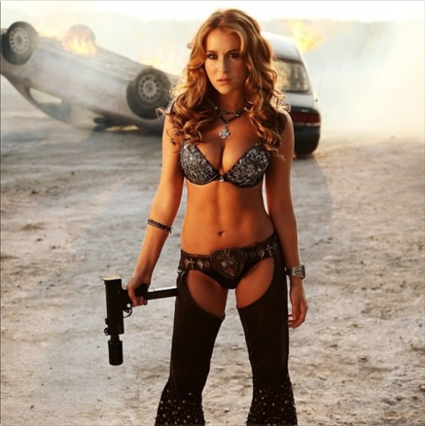 Alexa Vega Stunning in Machete Kills