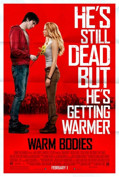 Latest Warm Bodies Poster will Have you Loving the Dead