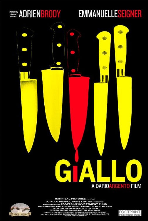 Some simple but sexy artwork for Giallo