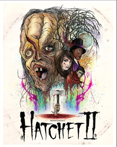Limited Edition Hatchet II Poster Unveiled and Now Available Online