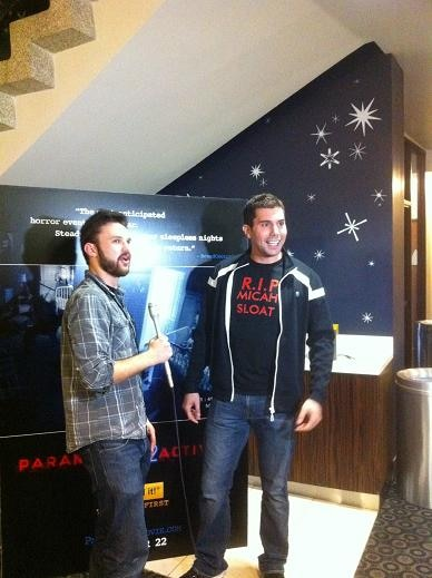 Micah Sloat at Paranormal Activity 2 Screening in Hollywood
