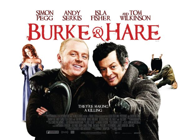 Two New Clips from Burke and Hare Bring on the Dark Comedy