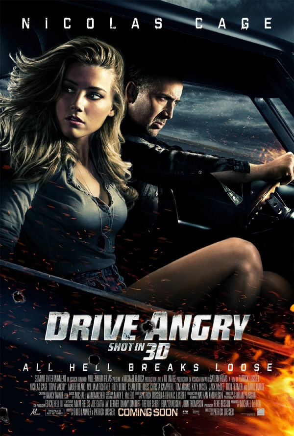 Greatest. Red Band Clip. Ever. Drive Angry 3D