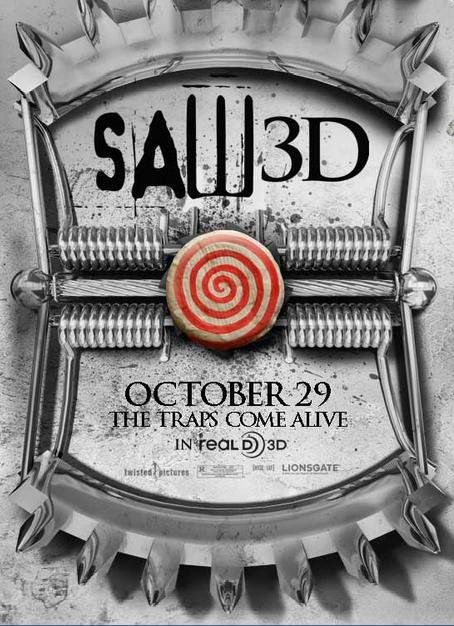 New York Comic-Con 2010: Exclusive Saw 3D One-Sheet