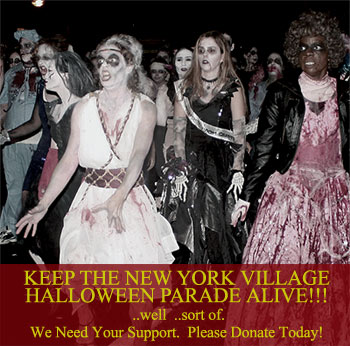 NYC Village Halloween Parade Needs Your Help!