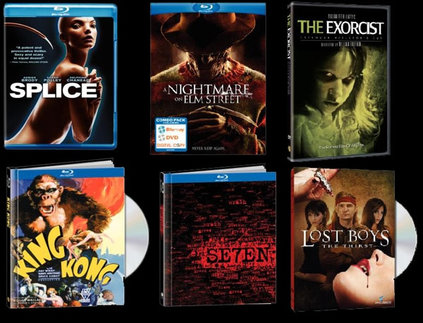 Win an October Fear Fest Blu-ray and DVD Bundle