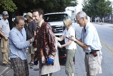 The Walking Dead on AMC TV - Episode 101 - Behind The Scenes