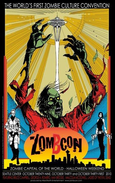 ZomBCon Invades Seattle This Weekend!