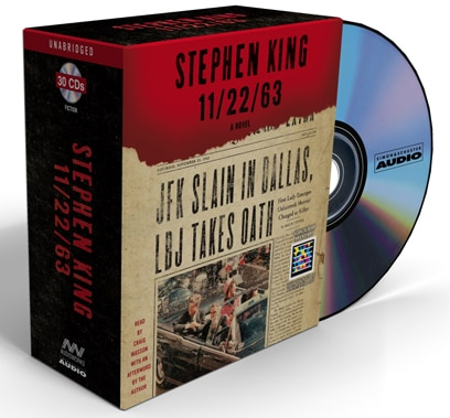 Audio Excerpts from Stephen King's 11/22/63 Now Available
