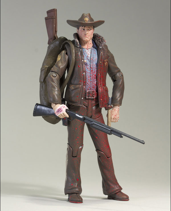 The Walking Dead: Bloody Rick Grimes Figure (a McFarlane Toys 2011 NYCC Exclusive)