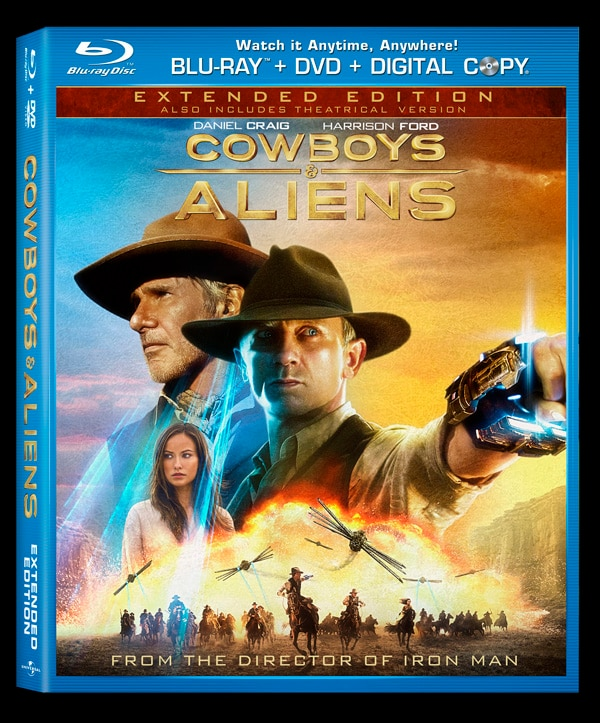 Cowboys & Aliens Bring the Fight to Home Video