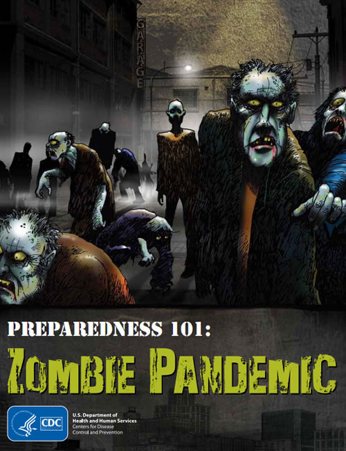 Something is Amiss: US Center for Disease Control Discussing Zombie Pandemic Preparedness