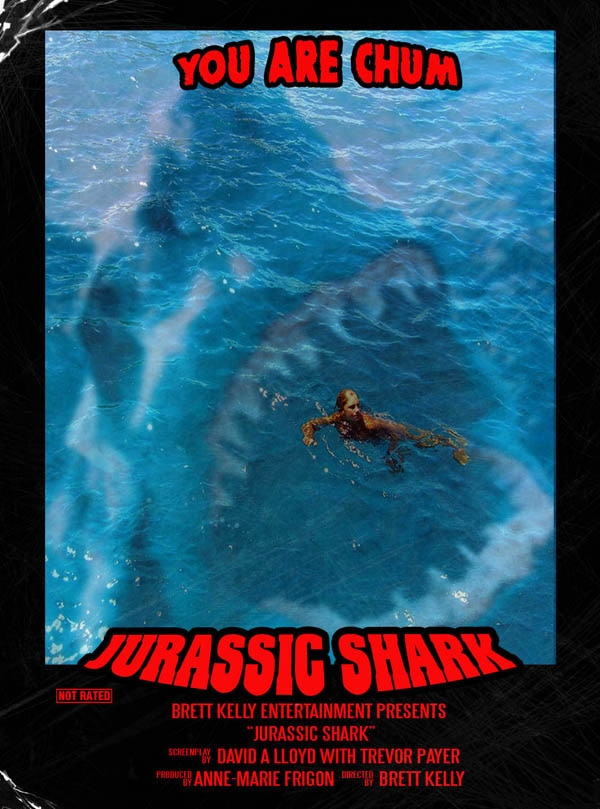 Chew on this Trailer for Jurassic Shark