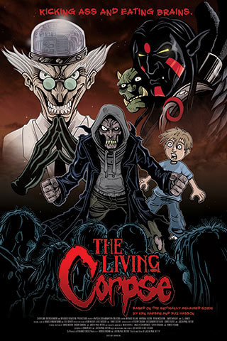 Trailer and Poster Art for The Living Corpse