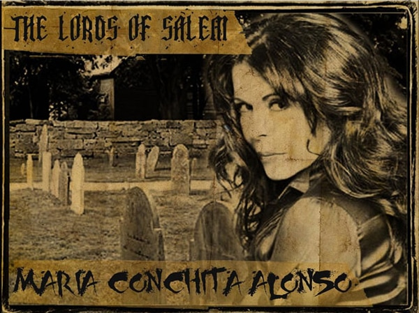 Maria Conchita Alonso Supports Her Hubby in The Lords of Salem