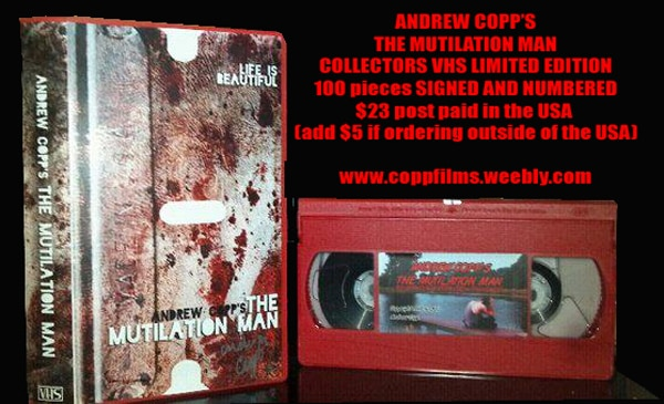 The Mutilation Man Returns…on VHS! Now That's Old School!