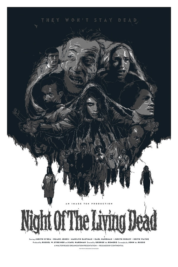 Night of the Living Dead Limited Edition Print
