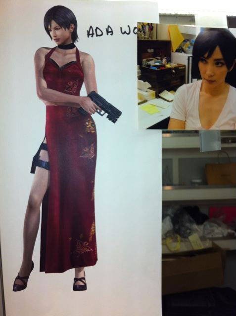 A Sneak Peek of Li Bingbing as Resident Evil: Retribution's Ada Wong
