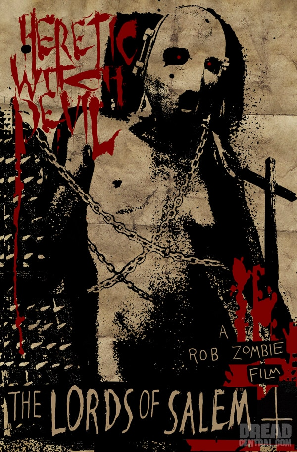 Sadistic New Sales Art - Rob Zombie's The Lords of Salem