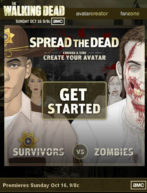 The Walking Dead: Info on the Spread the Dead Facebook App