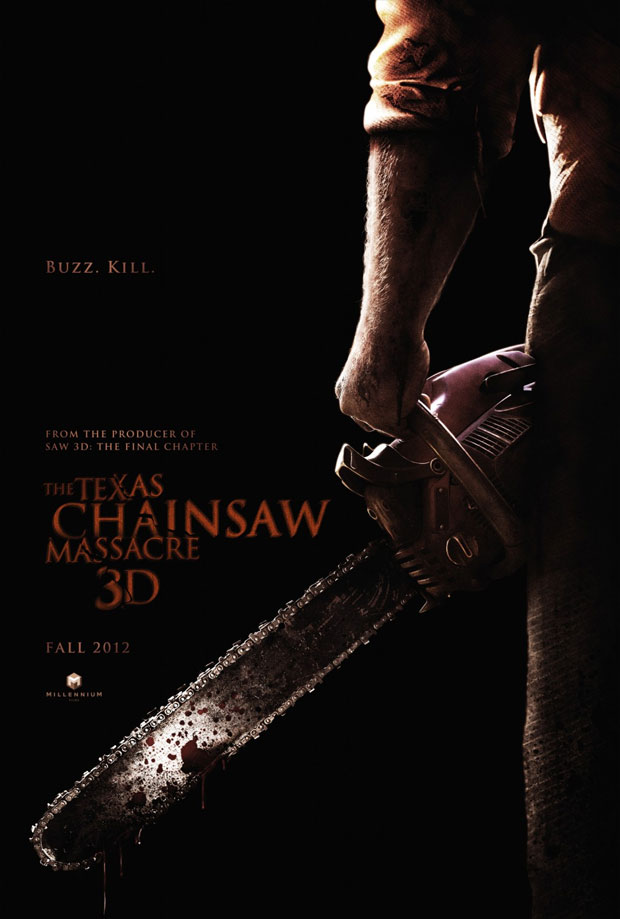 Teaser Poster for The Texas Chainsaw Massacre 3D Revs Up!