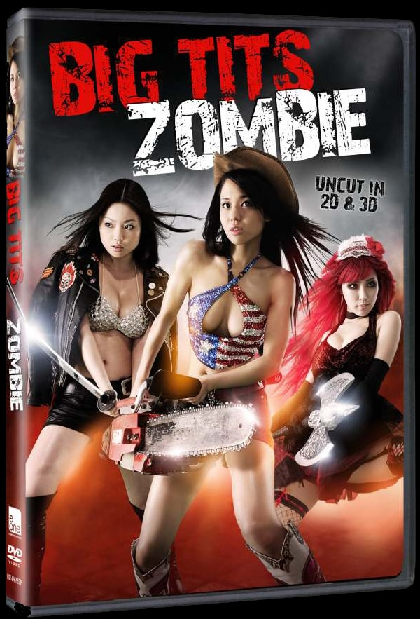 Flesh-Eating Zombies Take on Exotic Dancers in 2D and 3D in Big Tits Zombie