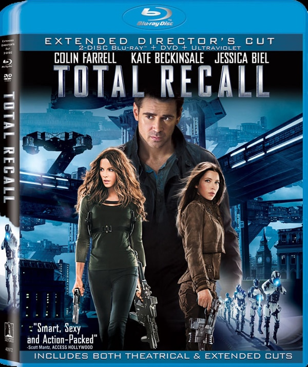 Experience Total Recall on Blu-ray and DVD