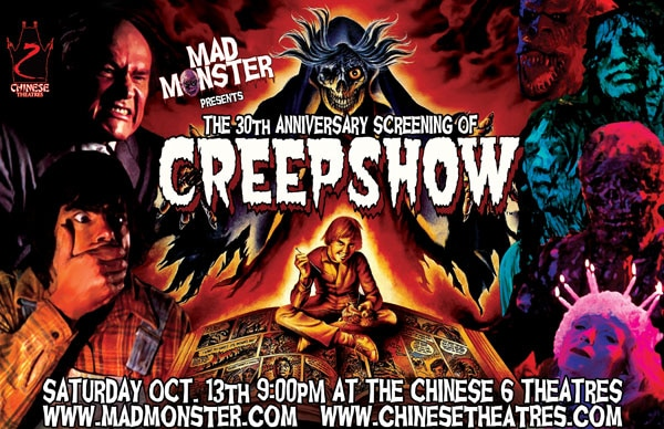 Mad Monster Movie Night to Present 30th Anniversary Screening of Creepshow
