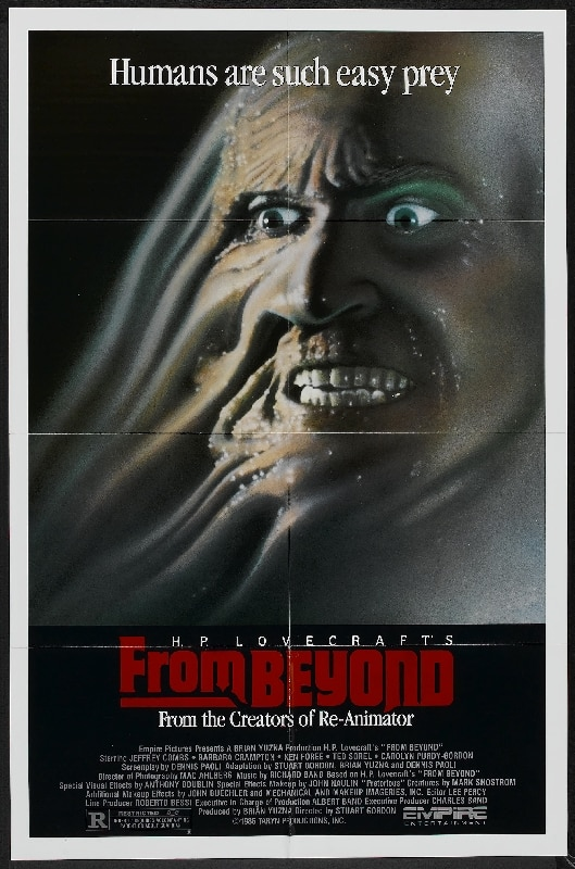 Scream Factory Announces From Beyond Collector's Edition Blu-ray for 2013