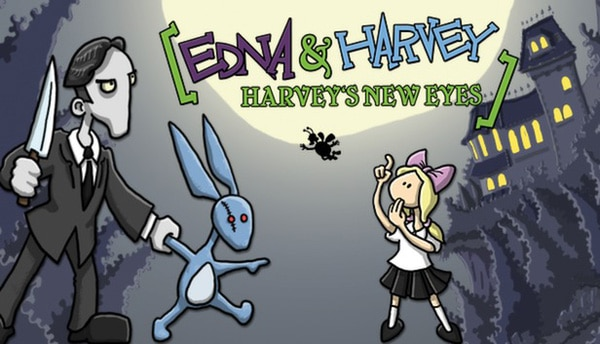 Morbid New Game Edna & Harvey: Harvey's New Eyes Now Available
