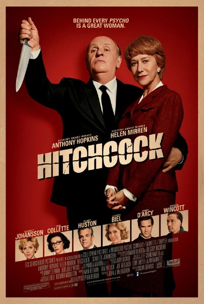 Third and Final Poster for Fox Searchlight's Hitchcock