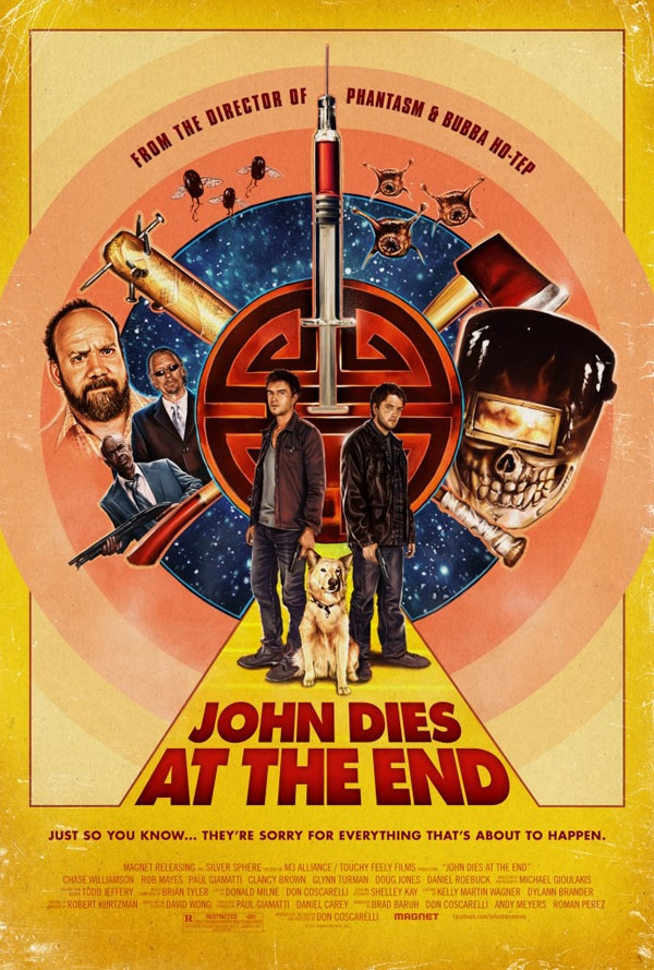 Wonderfully Weird New One-Sheet and Release News - John Dies at the End