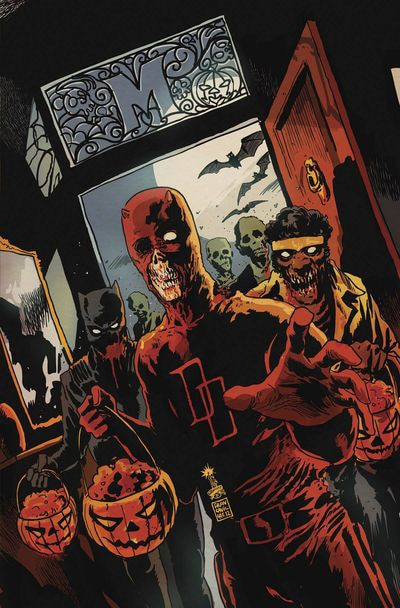 Go Trick or Treating with the Marvel Zombies Halloween