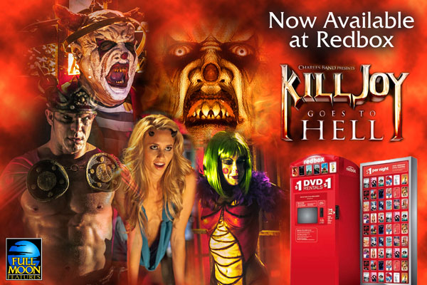Puppet Master X Joins Fellow Full Moon Feature Killjoy Goes to Hell at Redbox