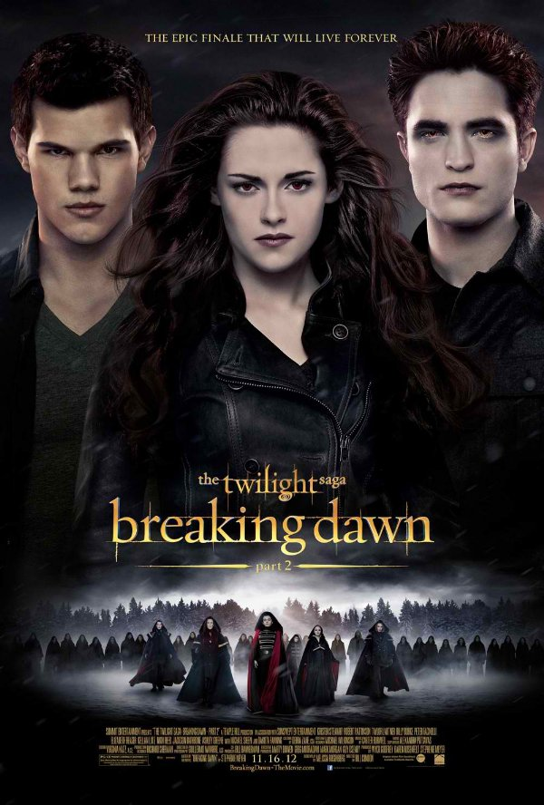 The Twilight Saga: Breaking Dawn - Part 2 International Poster
