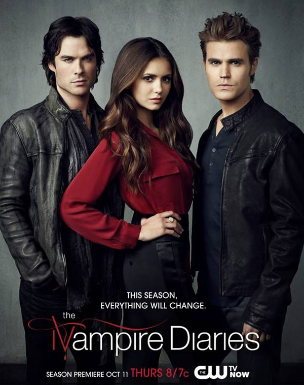 The Vampire Diaries Season 4 Premiere Artwork